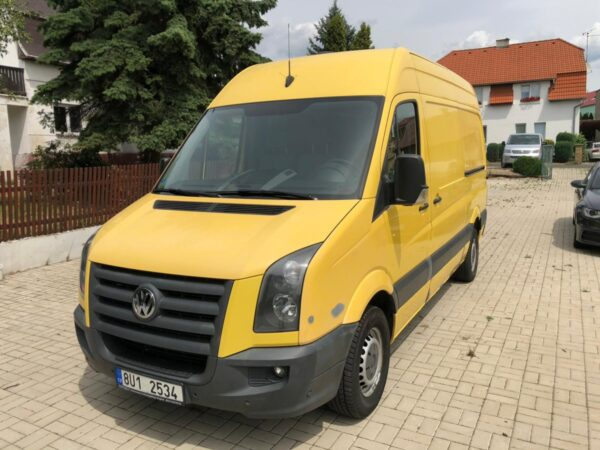 VW Crafter 35, 100kW
